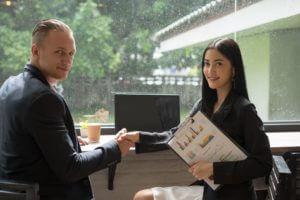 Business people shaking hands, Success deals